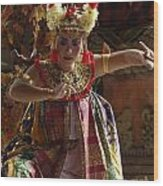 Beauty Of The Barong Dance 2 Wood Print