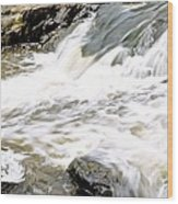 Beauty On The Eno River Wood Print