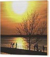Beaverton Sunrise Wood Print