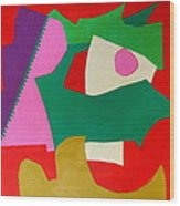 Bebop Wood Print