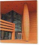 Bechtler Museum Of Modern Art Wood Print by Randall Weidner