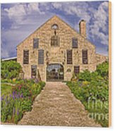 Becker Vineyards Winery Wood Print