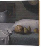 Bed Of Abundance Wood Print