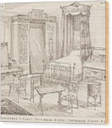 Bedchamber Furniture In The Japanese Wood Print