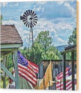 Bedford Village Pennsylvania Wood Print