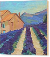 Bedoin - Provence Lavender Wood Print