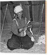 Bedouin Woman Wood Print