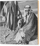 Bedouins In Jordan Wood Print