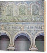 Bedroom Of The Moorish Kings In Real Alcazar Wood Print
