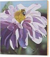 Bee Wood Print