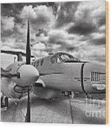 Beechcraft C-12 Huron Wood Print