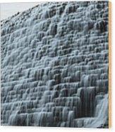 Beed's Lake Dam Wood Print