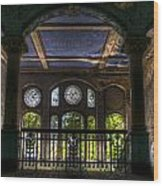 Beelitz Arches Wood Print