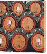 Beer Kegs, Oktoberfest, Bayern, Munich Wood Print