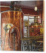 Beer - The Brew Kettle Wood Print