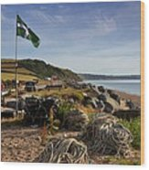 Beesands Wood Print