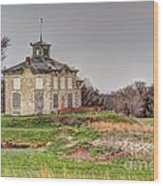 Beetison Mansion Wood Print