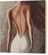 Before The Dance By Madart Wood Print