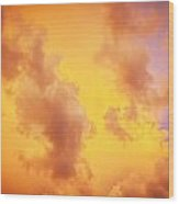 Before The Storm Clouds Stratocumulus 10 Wood Print