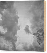 Before The Storm Clouds Stratocumulus 3 Wood Print