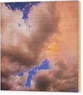 Before The Storm Clouds Stratocumulus 5  Wood Print