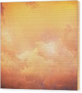 Before The Storm Clouds Stratocumulus 8 Wood Print