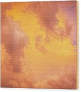 Before The Storm Clouds Stratocumulus 9 Wood Print