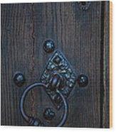 Behind Locked Doors Wood Print