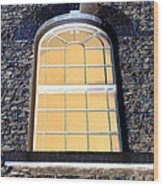 Behind That Window Wood Print