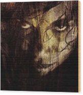 Behind The Veil Wood Print by Gun Legler