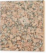 Beige Granite  Wood Print