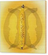Being Bananas From Inversions In The Multiverse Wood Print