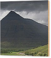 Beinn Dorain Panorama Wood Print