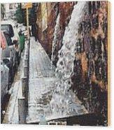 Beirut Wall Wood Print