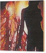 Bel Fire Wood Print