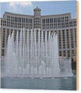 Belagio - Las Vegas Wood Print