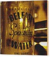 Belfast Sparkling Water Wood Print