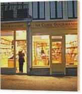 Belgische Chocola Wood Print