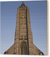Belgium. Oudenarde. Sint-walburgakerk Wood Print