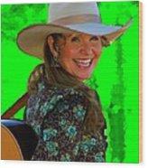 Belinda Gail Wood Print