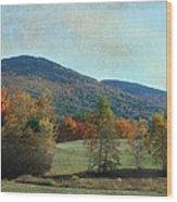 Belknap From Rogers Field Wood Print