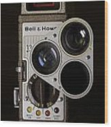 Bell And Howell 333 Movie Camera Wood Print