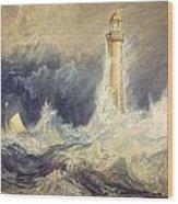 Bell Rock Lighthouse Wood Print
