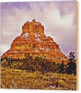 Bell Rock Sedona Az Wood Print
