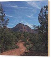 Bell Rock Trail Wood Print
