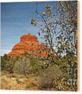 Bell Rock Vista Sedona  Az Wood Print