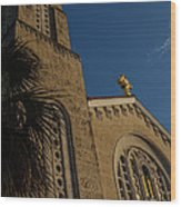 Bell Tower At St Sophia Wood Print