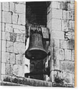 Bell Tower Valbonne Abbey Wood Print by Christine Till