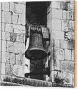 Bell Tower Valbonne Abbey Wood Print