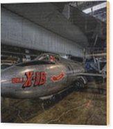 Bell X-1b Rocket Plane Wood Print